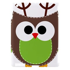 Clip Art Animals Owl Apple Ipad 3/4 Hardshell Case (compatible With Smart Cover) by Onesevenart