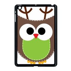 Clip Art Animals Owl Apple Ipad Mini Case (black) by Onesevenart