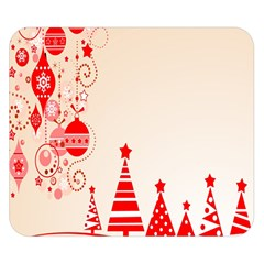Christmas Clipart Wallpaper Double Sided Flano Blanket (small)  by Onesevenart