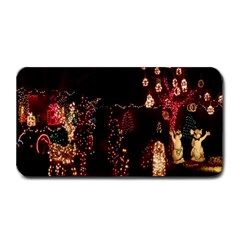 Holiday Lights Christmas Yard Decorations Medium Bar Mats by Onesevenart
