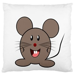 Raton Mouse Christmas Xmas Stuffed Animal Standard Flano Cushion Case (one Side) by Onesevenart