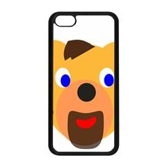 Solidarity Clipart Bear Head Teddy Bear Xmas Christmas Stuffed Animal Apple Iphone 5c Seamless Case (black) by Onesevenart