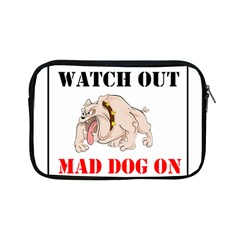Watch Out Mad Dog On Property Apple Ipad Mini Zipper Cases by Onesevenart