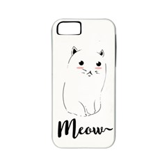 Cute Kitty  Apple Iphone 5 Classic Hardshell Case (pc+silicone) by Brittlevirginclothing