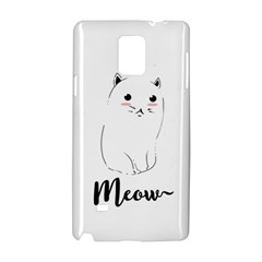 Cute Kitty  Samsung Galaxy Note 4 Hardshell Case by Brittlevirginclothing