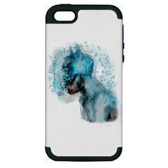 Smoking Batman Apple Iphone 5 Hardshell Case (pc+silicone) by Brittlevirginclothing