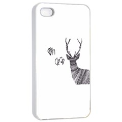 Oh Dear  Apple Iphone 4/4s Seamless Case (white) by Brittlevirginclothing
