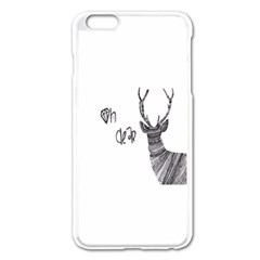 Oh Dear  Apple Iphone 6 Plus/6s Plus Enamel White Case by Brittlevirginclothing