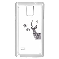 Oh Dear  Samsung Galaxy Note 4 Case (white) by Brittlevirginclothing