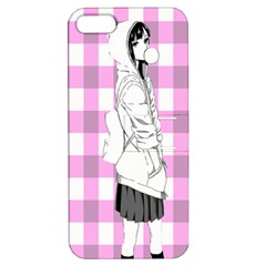 Cute Anime Girl  Apple Iphone 5 Hardshell Case With Stand by Brittlevirginclothing