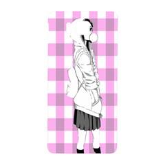 Cute Anime Girl  Samsung Galaxy Alpha Hardshell Back Case by Brittlevirginclothing