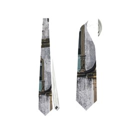 Exterior Facade Antique Colonial Church Olinda Brazil Neckties (one Side)