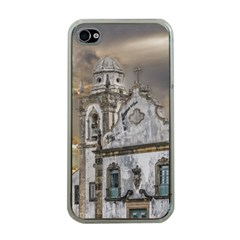 Exterior Facade Antique Colonial Church Olinda Brazil Apple Iphone 4 Case (clear) by dflcprints