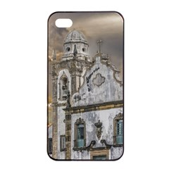 Exterior Facade Antique Colonial Church Olinda Brazil Apple Iphone 4/4s Seamless Case (black) by dflcprints