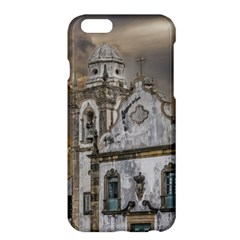 Exterior Facade Antique Colonial Church Olinda Brazil Apple Iphone 6 Plus/6s Plus Hardshell Case by dflcprints