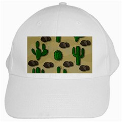Cactuses White Cap by Valentinaart