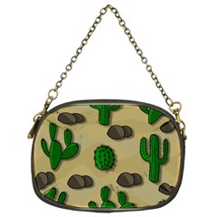 Cactuses Chain Purses (one Side)  by Valentinaart
