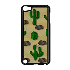 Cactuses Apple Ipod Touch 5 Case (black) by Valentinaart
