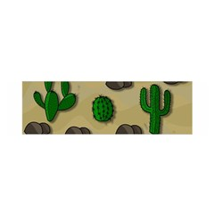 Cactuses Satin Scarf (oblong) by Valentinaart