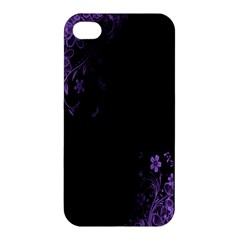 Beautiful Lila Flower  Apple Iphone 4/4s Hardshell Case by Brittlevirginclothing