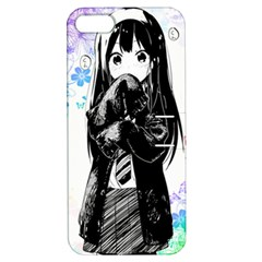 Shy Anime Girl Apple Iphone 5 Hardshell Case With Stand by Brittlevirginclothing