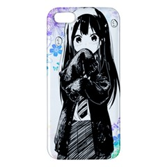 Shy Anime Girl Apple Iphone 5 Premium Hardshell Case by Brittlevirginclothing