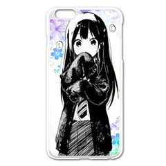 Shy Anime Girl Apple Iphone 6 Plus/6s Plus Enamel White Case by Brittlevirginclothing