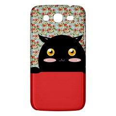 Cute Kitty Hiding Samsung Galaxy Mega 5 8 I9152 Hardshell Case  by Brittlevirginclothing