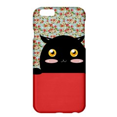 Cute Kitty Hiding Apple Iphone 6 Plus/6s Plus Hardshell Case by Brittlevirginclothing