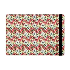 Gorgeous Red Flower Pattern  Ipad Mini 2 Flip Cases by Brittlevirginclothing