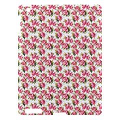 Gorgeous Pink Flower Pattern Apple Ipad 3/4 Hardshell Case by Brittlevirginclothing