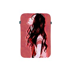 Day Dreaming Anime Girl Apple Ipad Mini Protective Soft Cases by Brittlevirginclothing