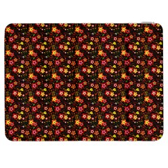 Exotic Colorful Flower Pattern  Samsung Galaxy Tab 7  P1000 Flip Case by Brittlevirginclothing