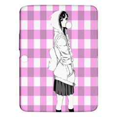 Cute Anime Girl  Samsung Galaxy Tab 3 (10.1 ) P5200 Hardshell Case  by Brittlevirginclothing