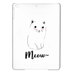 Cute Kitty  Ipad Air Hardshell Cases by Brittlevirginclothing