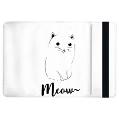 Cute Kitty  Ipad Air 2 Flip by Brittlevirginclothing