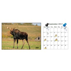 Donbrad2 By Nancy White   Desktop Calendar 11  X 5    Akodo8g2m0zh   Www Artscow Com Sep 2017