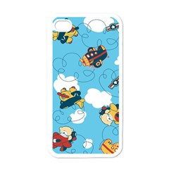 Bear Aircraft Apple Iphone 4 Case (white) by AnjaniArt