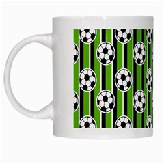 Ball Line White Mugs