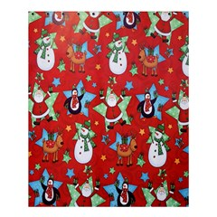 Xmas Santa Clause Shower Curtain 60  X 72  (medium)  by AnjaniArt