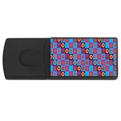 Batik Usb Flash Drive Rectangular (4 Gb)  by AnjaniArt