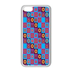 Batik Apple Iphone 5c Seamless Case (white) by AnjaniArt
