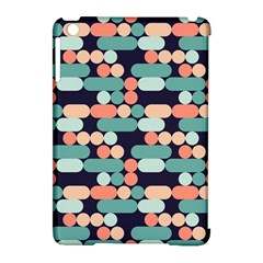 Coral Mint Color Style Apple Ipad Mini Hardshell Case (compatible With Smart Cover) by AnjaniArt