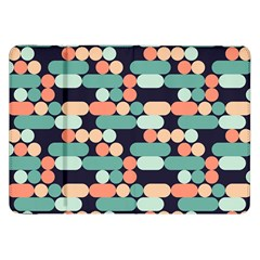 Coral Mint Color Style Samsung Galaxy Tab 8 9  P7300 Flip Case by AnjaniArt