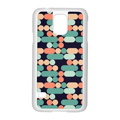 Coral Mint Color Style Samsung Galaxy S5 Case (white) by AnjaniArt
