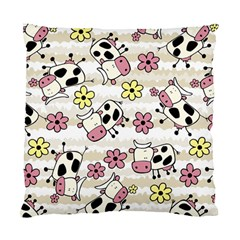 Cow Animals Standard Cushion Case (two Sides) by AnjaniArt