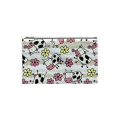 Cow Animals Cosmetic Bag (small)  by AnjaniArt