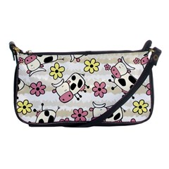 Cow Animals Shoulder Clutch Bags by AnjaniArt