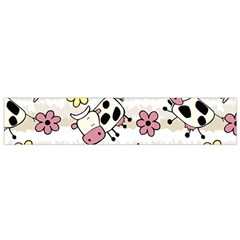 Cow Animals Flano Scarf (small) by AnjaniArt