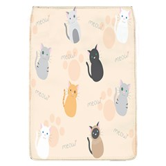 Cute Cat Meow Animals Flap Covers (l)  by AnjaniArt